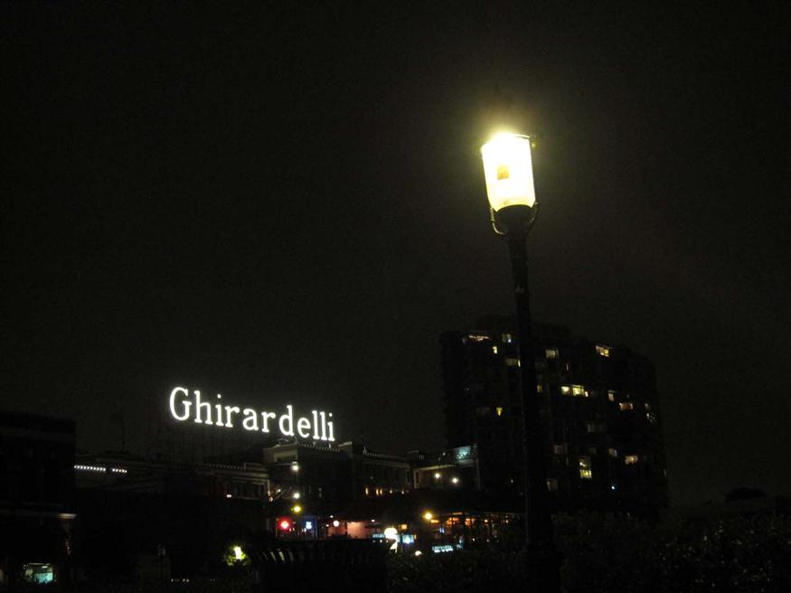 The Ghiradelli Chocolate Factory